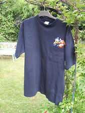 echtes Disney T-Shirt blau Gr XL mit Donald und Goofy, ungetragen