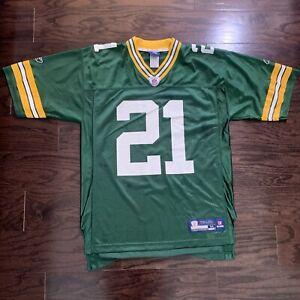 GREEN BAY PACKERS #21 Charles Woodson NFL FOOTBALL JERSEY Mens Sz Medium Reebok