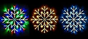 Snowflake Window Fairy Light For Home Party Christmas Xmas Decoration 50 LED