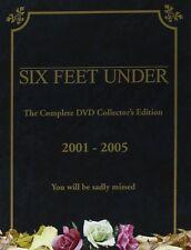 SIX FEET UNDER Series 1-5 SEALED/NEW Complete Seasons 1 2 3 4 5 7321900768788  6