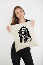 Bob Marley Rasta Reggae God Rastaman Ganja Natural Shoulder Shopping Tote Bag