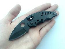 Ball Bearing Lock SR Knife Stainless Steel Saber Camping Pocket Folding Blade