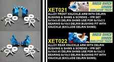 Blue XMODS EVO Truck front & rear knuckles set