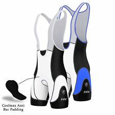 FDX Mens Pro Cycling Bib Shorts Coolmax? Padding Outdoor Cycle Gear Pants Shorts