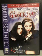 Ginger Snaps (DVD, 2003, Widescreen, Bilingual)-Horror-Rare & OOP