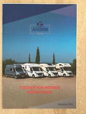 Ahorn Camp ACT Canada Alaska 2018 Renault Master Reisemobil Wohnmobil Prospekt