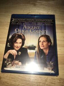 August: Osage County (Blu-ray Disc, 2014) Factory Sealed