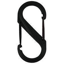 Nite Ize S-Biner Plastic Size #4 - Black/Black Gates