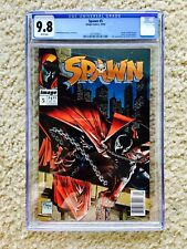 Spawn 5 (1992) CGC 9.8 RARE Newsstand Edition Copy Image Comics Todd McFarlane!!