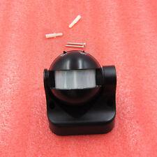 180 Lighting Pir Motion Movement Sensor Detector Meter Switch Outdoor Black