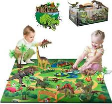 Dinosaur Toys Dinosaur Figures Activity Play Mat & Trees Dinosaur World Play Set
