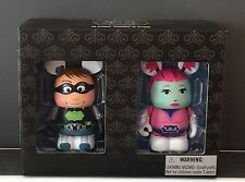 "Disney Vinylmation 3"" Combo Comic Con Set Sdcc Superhero Le Nib"