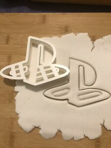 Playstation Style Logo Cookie Cutter For Fondant Icing/sugar Paste