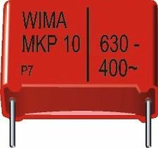 10 PCs. Wima mkp10 100nf 0,1uf 630vdc 400vac rm22, 5 New