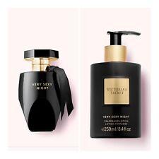 Victoria's Secret VERY SEXY NIGHT Eau de Parfum(3.4 fl.oz)+Fragrance Body Lotion