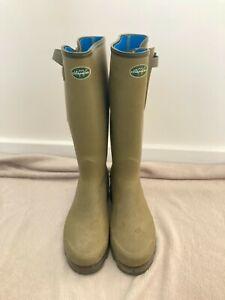 Le chameau vierzonord wellies UK 10 / size 44 mens wellington boots