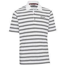 NEW Taylor Made By Ashworth Golf Shirt Medium White/Black
