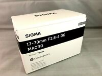 New SIGMA Contemporary 17-70mm f/2.8-4 DC Macro OS HSM Lens for NIKON F Mount