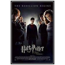 New listing Harry Potter and the Order Of The Phoenix Movie Poster Print and Print. Film