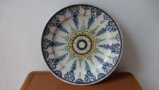 PLAT EN FAIENCE NORD France...Céramique  XVIIIème .32 cm. Antique ceramic dish