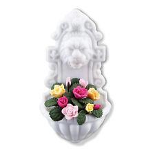 Reutter Porzellan Gartenwaschbecken Garden Wall Fountain Roses Puppenstube 1:12