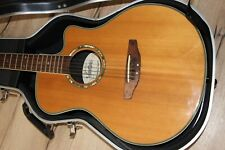 Vester HC-1468 Gitarre Ovation -Style Westerngitarre mit Koffer Gitarrenkoffer
