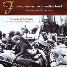 Voice Of The People Vol 4 - Farewell My Own Dear Native Land (NEW CD)