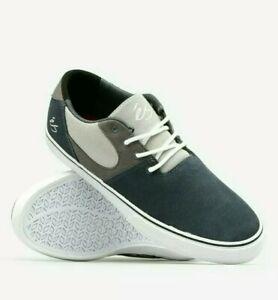 Es Footwear Accel SQ Dark Grey Skate Shoes Skateboarding Pro SLS 9UK Sneakers