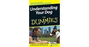 Understanding Your Dog for Dummies Book