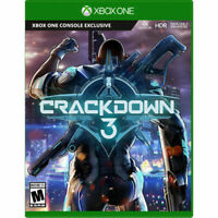Crackdown 3 -- Standard Edition (Microsoft Xbox One, 2019) Game & Case