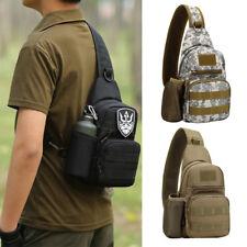 Outdoor Military Shoulder Tactical Backpack Camping Travel Hiking Trekking Bag