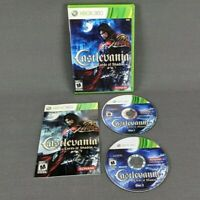 Castlevania Lords of Shadow with Manual Microsoft Xbox 360 Complete