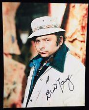 Burt Giovane Firmato Sylvester Stallone' Rocky Balboa' Paulie 8x10 Foto - Proof
