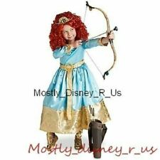 Disney Store Exclusive Brave Formal Princess Merida Girls Costume Dress New 2/3