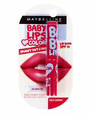 Maybelline Baby Lips Balm Bright Out Loud Color Moisture Care SPF13 Wild Cherry