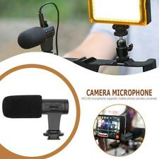 MIC-06 External Stereo Mobile Phone Microphone Camera Video Audio Recording Mic