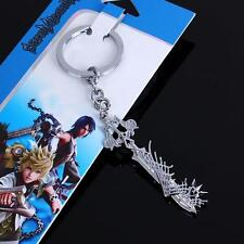 NEW Kingdom Hearts Weapon Metal Keychain Key Ring Pendant Anime Cosplay #477 AU