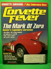 Corvette Fever ~ September 2003 ~ The Mark Of Zora