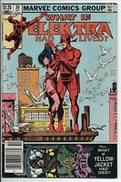 """MARVEL COMICS """"What If"""" #35 What if Elektra had lived? VF Oct. 1982"""