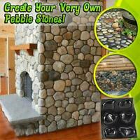 Casts Master Pebbles Concrete Mold Step Stones Plaster Cobblestones Mould