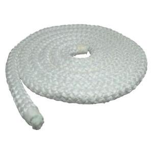12.7mm Wood Fire Stove & Heater Door Rope Seal – High Density Fibreglass - 2 Mtr
