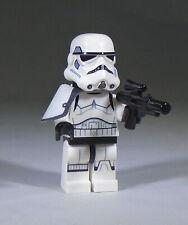 LEGO Star Wars Rebels Stormtrooper Sergeant Minifig, scowling face short blaster