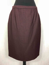 86ecec8160 GIORGIO ARMANI Skirt Lunghette Wool Pleats Wool Woman Skirt Sz. L - 46