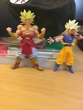 Dragon Ball Z Goku Broly Set Super Gt Bandai Rare Vintage Saiyan Vegeta Piccolo