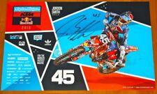 2018 Jordon Smith signed Red Bull KTM 250 SX-F AMA Supercross Motocross Poster