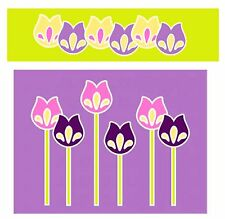 Sizzix Bigz Tulip Flower die #659141 Retail $19.99 Cuts fabric! by E. L. Smith