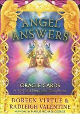 Angel Answers Oracle Cards by Doreen Virtue & Radleigh Valentine NEW & Sealed
