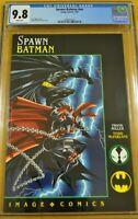 SPAWN BATMAN #NN CGC 9.8 NM/M 1994 1ST TODD MCFARLANE  FRANK MILLER IMAGE COMICS