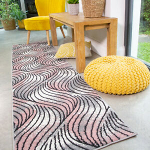 Jazzy Blush Pink Runner Rug Small Large Rugs For Living Room Soft Hall Runners