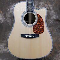 Scalloped X-bracing Acoustic Guitar Fishman 101 EQ Rosewood Body ZZ-EC45